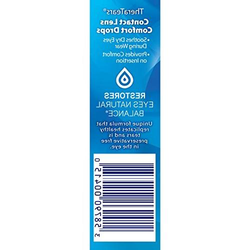 TheraTears Drops Contacts, Contact Comfort Rewetting Eyes, oz, 15 mL