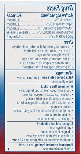 Visine Multi-Symptom Eye - 0.5 fl oz.