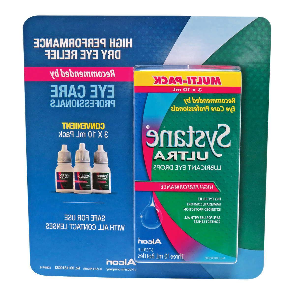 ultra lubricant eye drops 3 packs 10