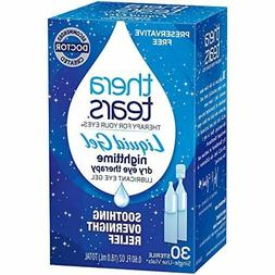 liquid gel nighttime dry eye therapy 30