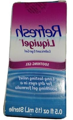 Refresh Liquigel Lubricant Eye Gel 15 mL Relief for Dry Eyes