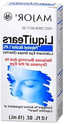 MAJOR LiquiTears Lubricant Eye Drops 0.50 oz