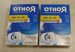 lot of 2 ice cooling eye drops