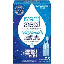 Theratears Lubricant Gel Eye Drops Nightime Therapy Preserva