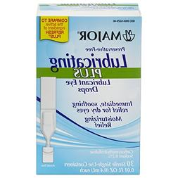 Major Lubricating Plus Dry Eye Drops CARBOXYMETHYLCELLULOSE