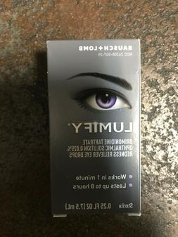 Lumify Eye Drops 7.5ML By Bausch & Lomb exp 03/2022