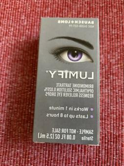 Lumify Redness Reliever Eye Drops 0.08 oz FREE SHIPPING! Exp