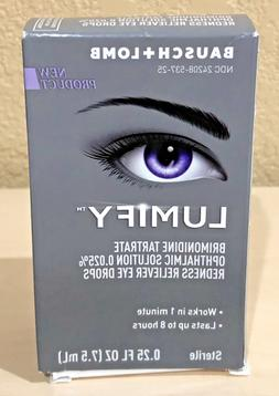Lumify Redness Reliever Eye Drops 0.25 oz  BRAND NEW>FREE SH