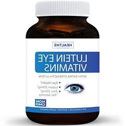 Lutein Eye Vitamins: Ultimate Vision Support Supplement for