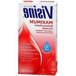 Visine Maximum Redness Relief Eye Drops 1/2 oz