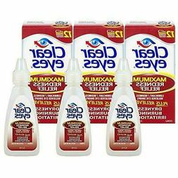 Clear Eyes | Maximum Redness Relief Eye Drops | 0.5 FL OZ |