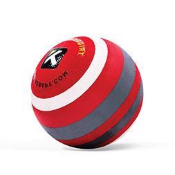 "Trigger Point MBX Massage Ball, 2.5"" diameter, Black/Red"