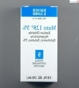 McK Bausch & Lomb Muro 128 Lubricant Eye Drops 15 mL Drop