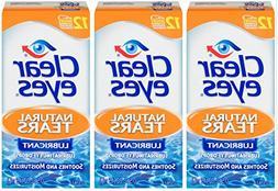 Clear Eyes   Natural Tears Lubricant Eye Drops   0.5 FL OZ  