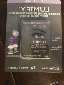 Multi-Pack LUMIFY Redness Reliever Eye Drops, 7.5mL/0.25 fl