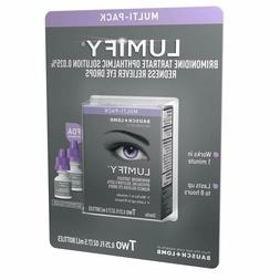 NEW Multi-Pack LUMIFY Redness Reliever Eye Drops, 7.5mL/0.25