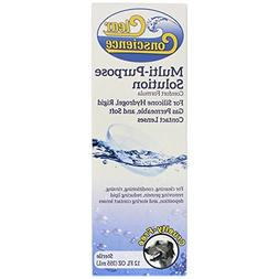 Clear Conscience Multi Purpose Solution for Soft Contact Len