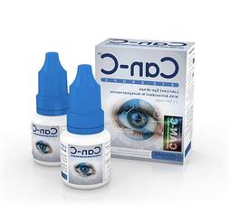 Can C Eye Drops N-Acetylcarnosine for Cataracts  2x5ml vials