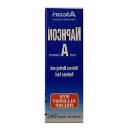 Alcon Naphcon-A Allergy  Relief Eye Drops 15ml CANADA