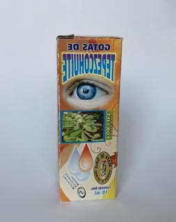 Natural Herbal Eye Drops Tepezcohuite Siempre Viva Gotas Nat