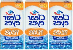 Clear Eyes | Natural Tears Lubricant Eye Drops | 0.5 Fl Oz |