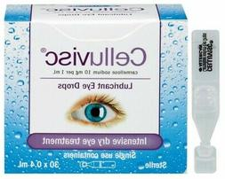Celluvisc Lubricant Eye Drops 30 x 0.4 mL Intensive Dry Eye