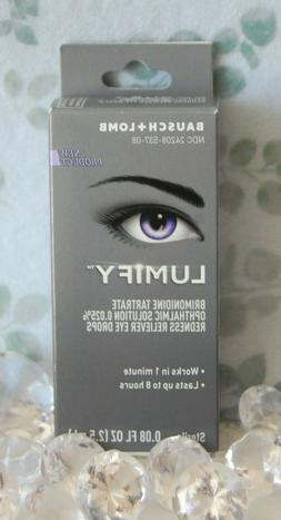 new in box redness reliever eye drops