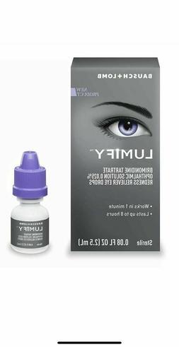 New! Lumify Redness Reliever Eye Drops 0.08 oz . FREE SHIPPI