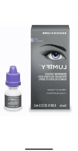 new lumify redness reliever eye drops 0