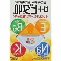 NEW ROHTO Vita 40a Alpha 12ml Vitamin Eye Drops Japan Import