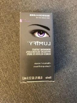 NIB LUMIFY Redness Reliever Eye Drops By Bausch + Lomb 0.08