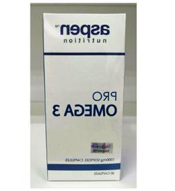 ASPEN NUTRITION PRO OMEGA 3 1000mg 60'S