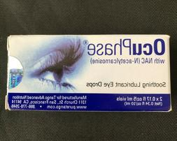 OcuPhase Soothing Lubricant Eye Drops with NAC , 2 x 5 Milli