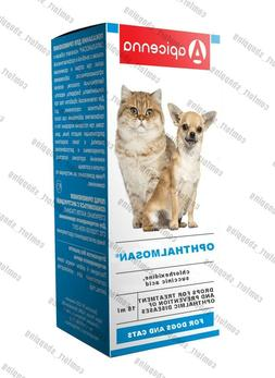 Oftalmosan EYE drops treatment ophthalmic diseases cats & do
