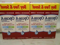 Opcon-A Eye Bausch Lomb Allergy Relief Eye Drops 0.5 oz  Exp