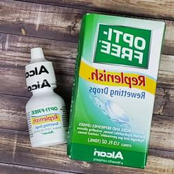 Opti-Free Replenish Rewetting Eye Drops Moisturizes Refreshe