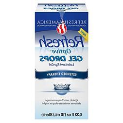 Refresh Optive Gel Drops 0.33 Fl Oz  Per Bottle - 2 Bottles