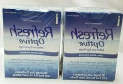 Refresh Optive Lubricant Eye Drops 30 Single-Use Containers