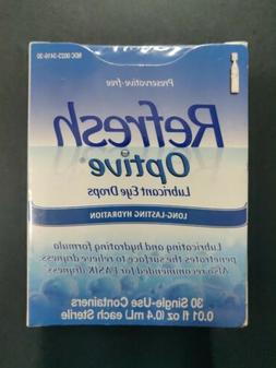 Optive Sensitive Preservative-Free Lubricant Eye Drops, 30 e
