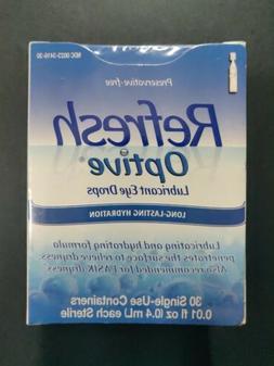 Optive Sensitive Preservative-Free Lubricant Eye Drops, 30 e