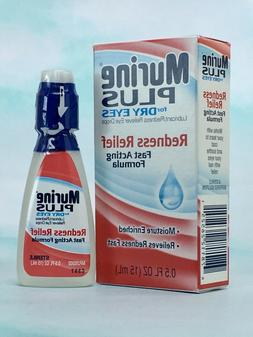 Murine Plus Eye Drops for Dry Eyes with Lubricants & Redness