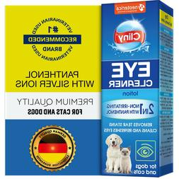 Premium Eye Cleaner for Dogs & Cats - Natural Gentle Eye Inf