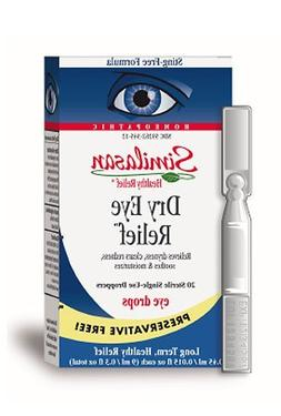 Similasan Preservative-Free Dry Eye Relief Eye Drops, .015-O