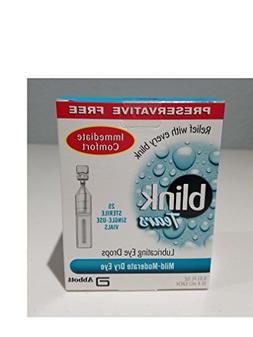 New Blink Preservative Free Dry Eye Relieve 25 Single Dose V