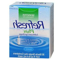 Refresh Plus� Preservative-Free Lubricant Eye Drops Single