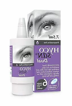 Hycosan Dual Preservative-Free Lubricating Allergy Eye Drops