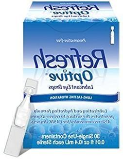 Refresh Optive Preservative-free Lubricant Eye Drops 30 Ea