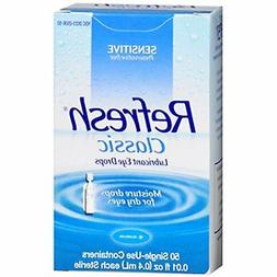 Refresh Classic Lubricant Eye Drops Single-Use Containers, 5