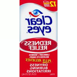 Clear Eyes Redness Relief Eye Drops - 0.5 fl oz EXP: 4/21