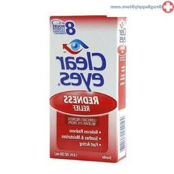 Clear Eyes | Redness Relief Eye Drops | 0.5 FL OZ | Pack of